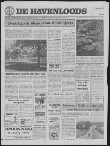 De Havenloods 1974-07-04