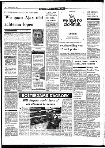 Rotterdamsch Parool / De Schiedammer 1970-10-02