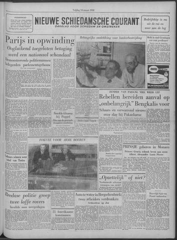 Nieuwe Schiedamsche Courant 1958-03-14