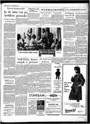 Rotterdamsch Parool / De Schiedammer 1963-09-19