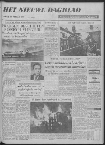 Nieuwe Schiedamsche Courant 1961-02-10