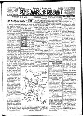 Schiedamsche Courant 1931-11-12