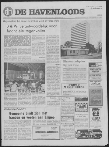 De Havenloods 1973-08-30