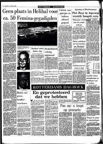 Rotterdamsch Parool / De Schiedammer 1966-09-14