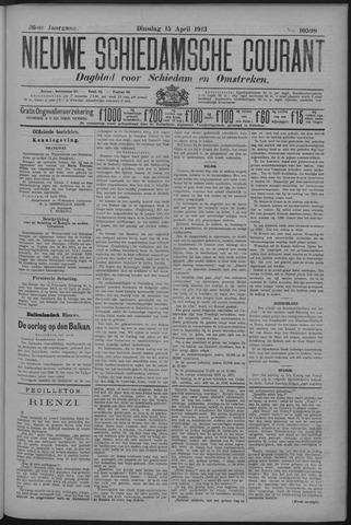 Nieuwe Schiedamsche Courant 1913-04-15