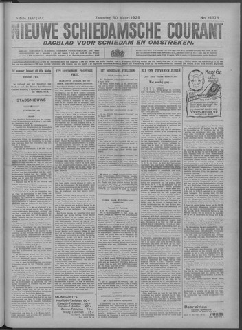 Nieuwe Schiedamsche Courant 1929-03-30