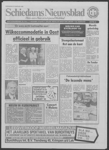 Schiedams Nieuwsblad 1985-02-27