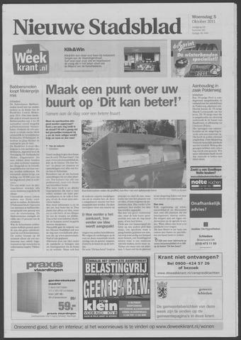 Het Nieuwe Stadsblad 2011-10-05