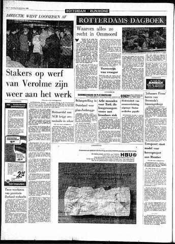 Rotterdamsch Parool / De Schiedammer 1968-09-24