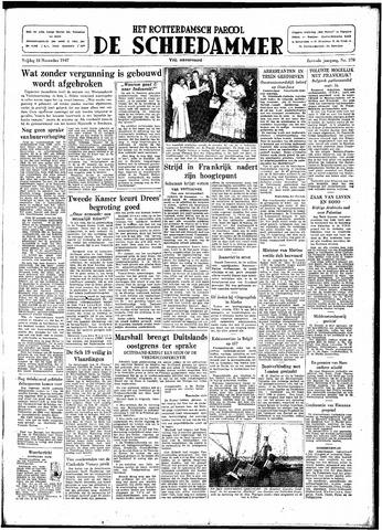 Rotterdamsch Parool / De Schiedammer 1947-11-28