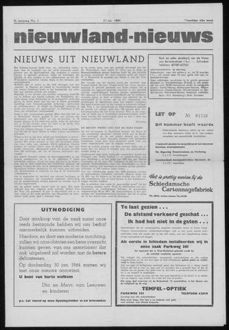 Nieuwland Nieuws 1964-01-23