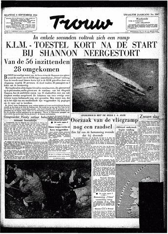 Trouw / De Rotterdammer 1954-09-06