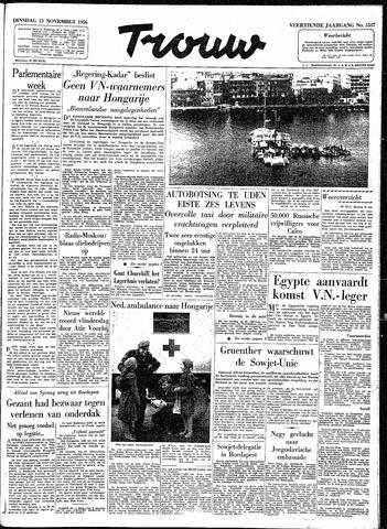 Trouw / De Rotterdammer 1956-11-13