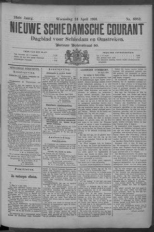 Nieuwe Schiedamsche Courant 1901-04-24