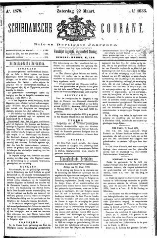 Schiedamsche Courant 1879-03-22