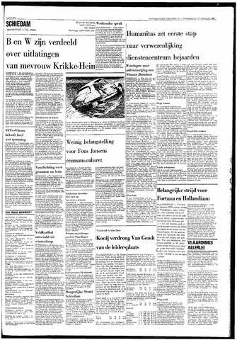 Rotterdamsch Nieuwsblad / Schiedamsche Courant / Rotterdams Dagblad / Waterweg / Algemeen Dagblad 1968-02-15