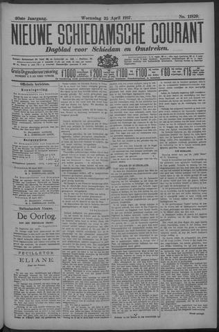 Nieuwe Schiedamsche Courant 1917-04-25