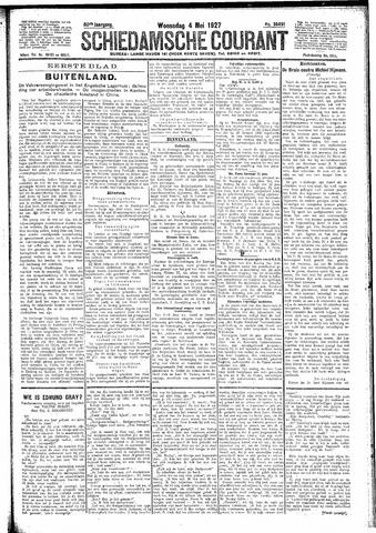 Schiedamsche Courant 1927-05-04