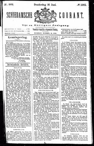 Schiedamsche Courant 1881-06-16