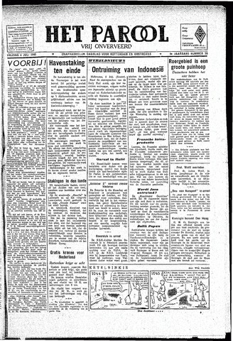 Rotterdamsch Parool / De Schiedammer 1945-07-06