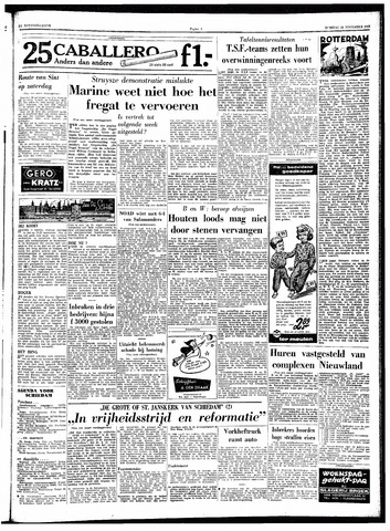 Trouw / De Rotterdammer 1962-11-20