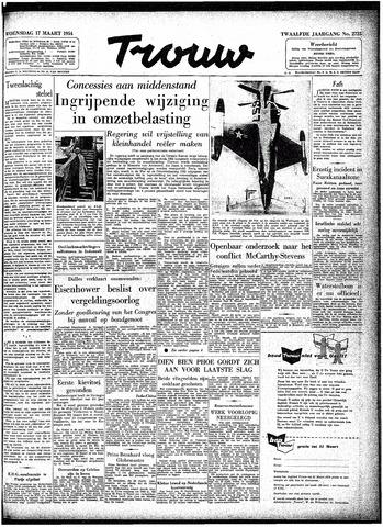 Trouw / De Rotterdammer 1954-03-17
