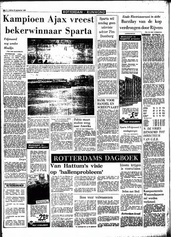Rotterdamsch Parool / De Schiedammer 1966-09-23