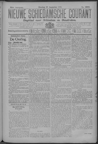 Nieuwe Schiedamsche Courant 1918-08-27