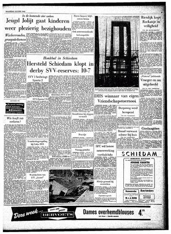 Rotterdamsch Parool / De Schiedammer 1962-06-18