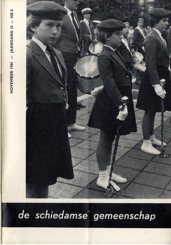 Schiedamse Gemeenschap (tijdschrift) 1961-11-01