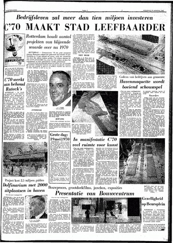 Trouw / De Rotterdammer 1969-08-20