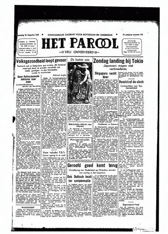 Rotterdamsch Parool / De Schiedammer 1945-08-22