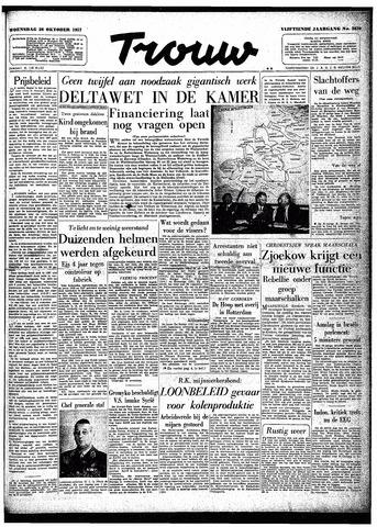 Trouw / De Rotterdammer 1957-10-30