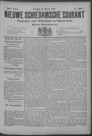 Nieuwe Schiedamsche Courant 1901-03-31