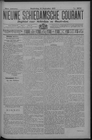 Nieuwe Schiedamsche Courant 1913-09-11