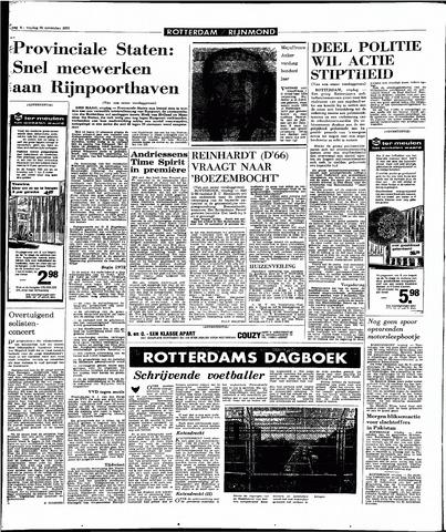 Rotterdamsch Parool / De Schiedammer 1970-11-20