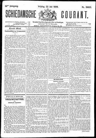 Schiedamsche Courant 1898-07-22