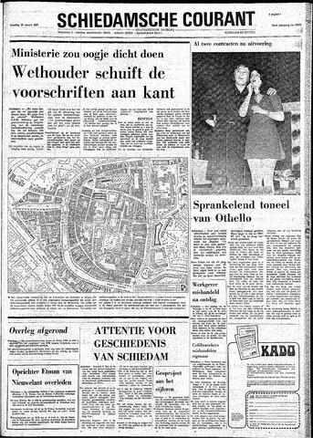 Rotterdamsch Nieuwsblad / Schiedamsche Courant / Rotterdams Dagblad / Waterweg / Algemeen Dagblad 1974-03-19
