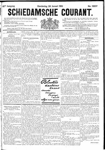 Schiedamsche Courant 1910-01-20