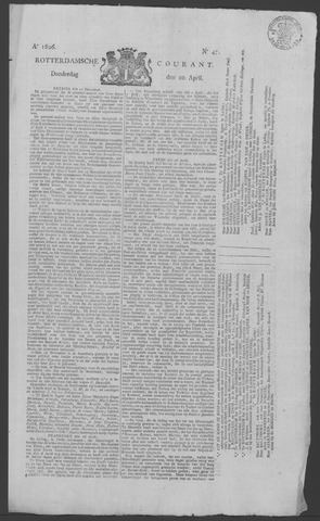 Rotterdamse Courant 1826-04-20