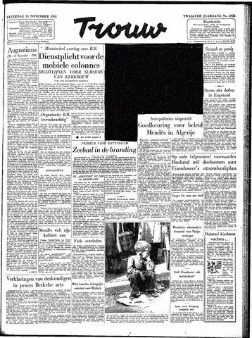 Trouw / De Rotterdammer 1954-11-13