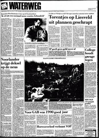 Rotterdamsch Nieuwsblad / Schiedamsche Courant / Rotterdams Dagblad / Waterweg / Algemeen Dagblad 1991-03-29