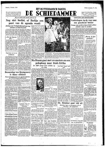 Rotterdamsch Parool / De Schiedammer 1948-10-05