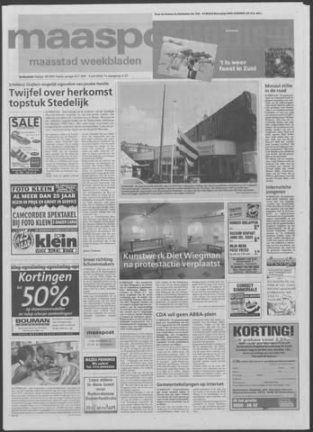 Maaspost / Maasstad / Maasstad Pers 2000-07-05