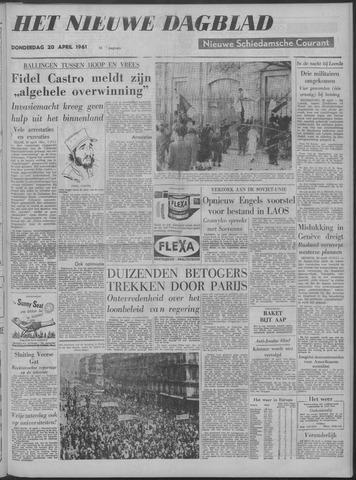 Nieuwe Schiedamsche Courant 1961-04-20