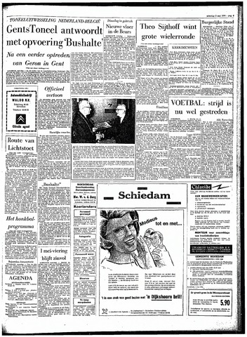 Rotterdamsch Parool / De Schiedammer 1964-05-02