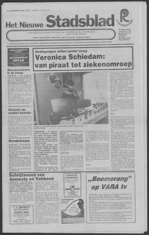 Het Nieuwe Stadsblad 1981-02-04