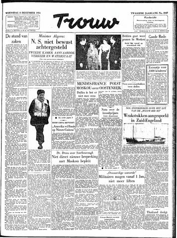 Trouw / De Rotterdammer 1954-12-08