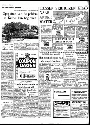 Rotterdamsch Parool / De Schiedammer 1963-07-10
