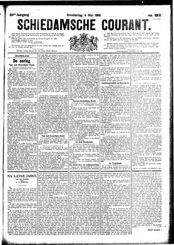 Schiedamsche Courant 1916-05-04
